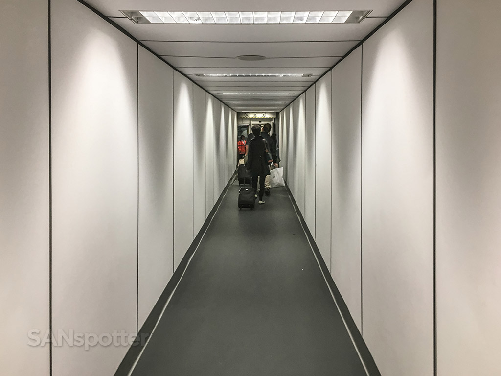 Hong Kong international airport jet bridge