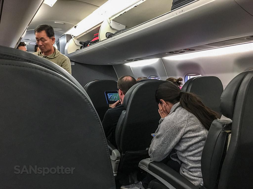 American eagle ERJ 175 first class cabin