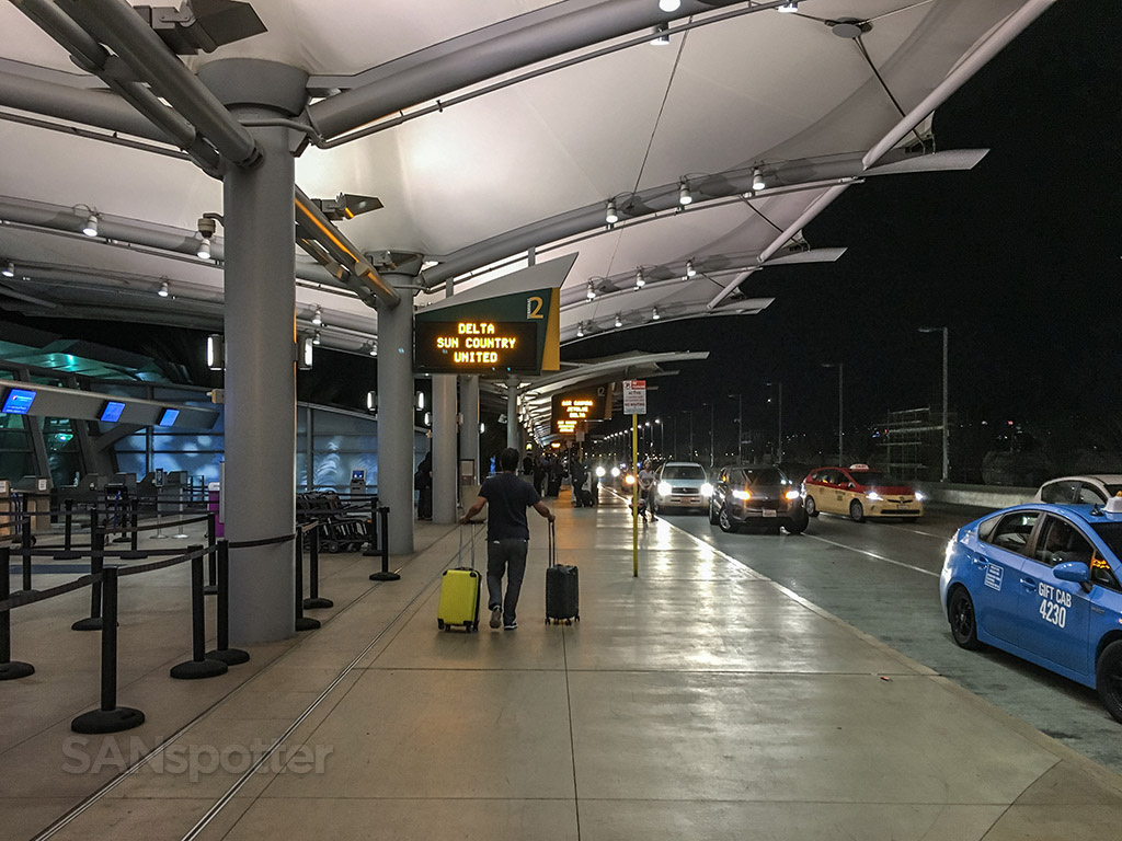 San Diego international airport Uber pick up
