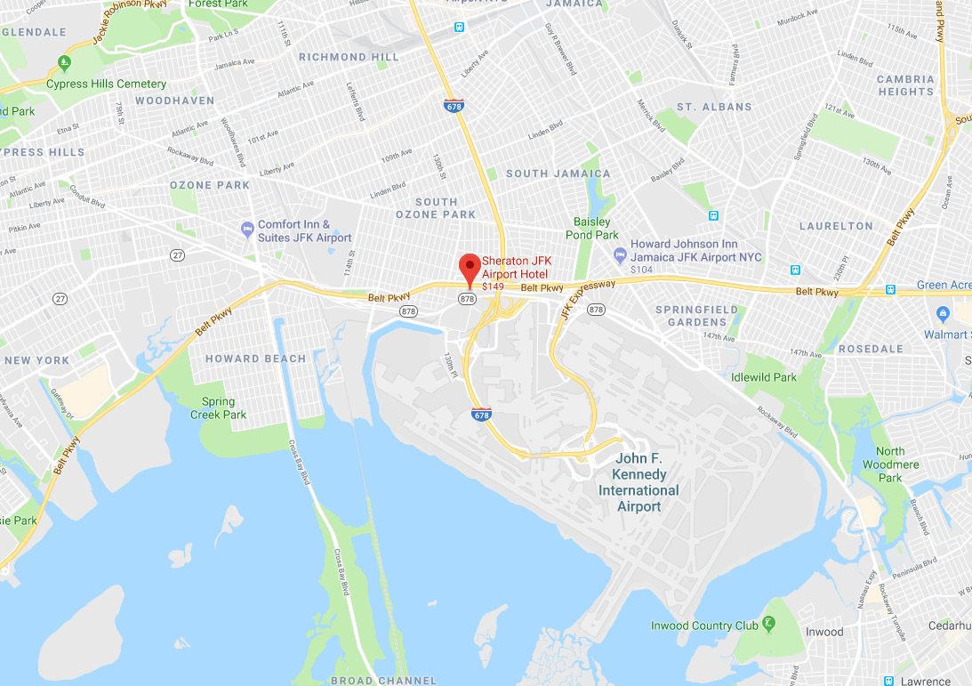 exact location of the Sheraton JfK