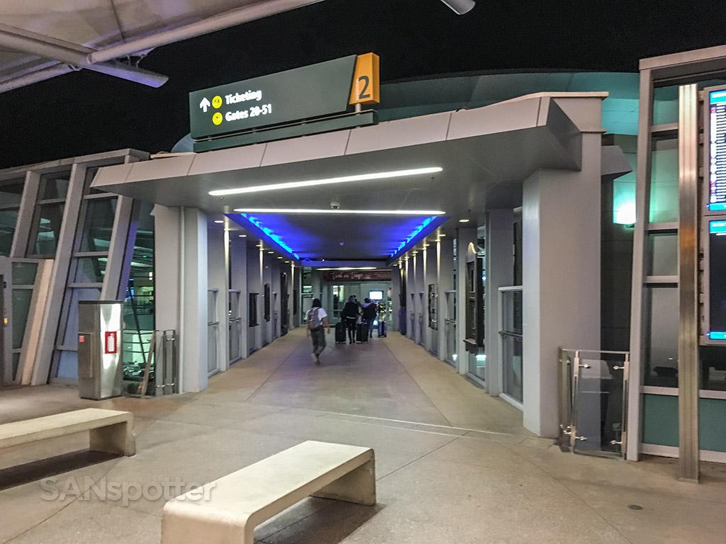 SAN terminal 2west entrance
