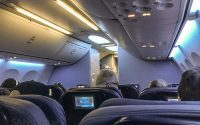 United Airlines 737-900/er mood lighting