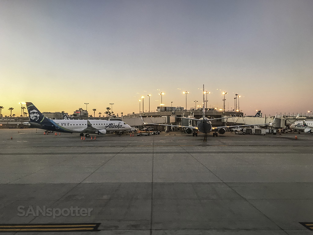 Alaska Airlines terminal SAN