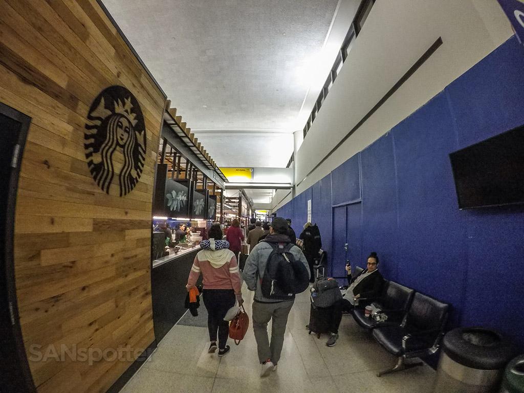 EWR airport terminal interior