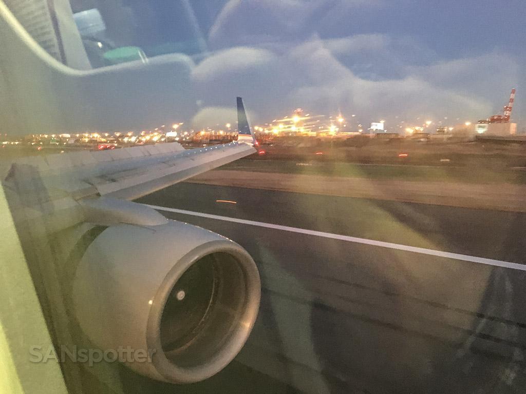 Landing at EWR