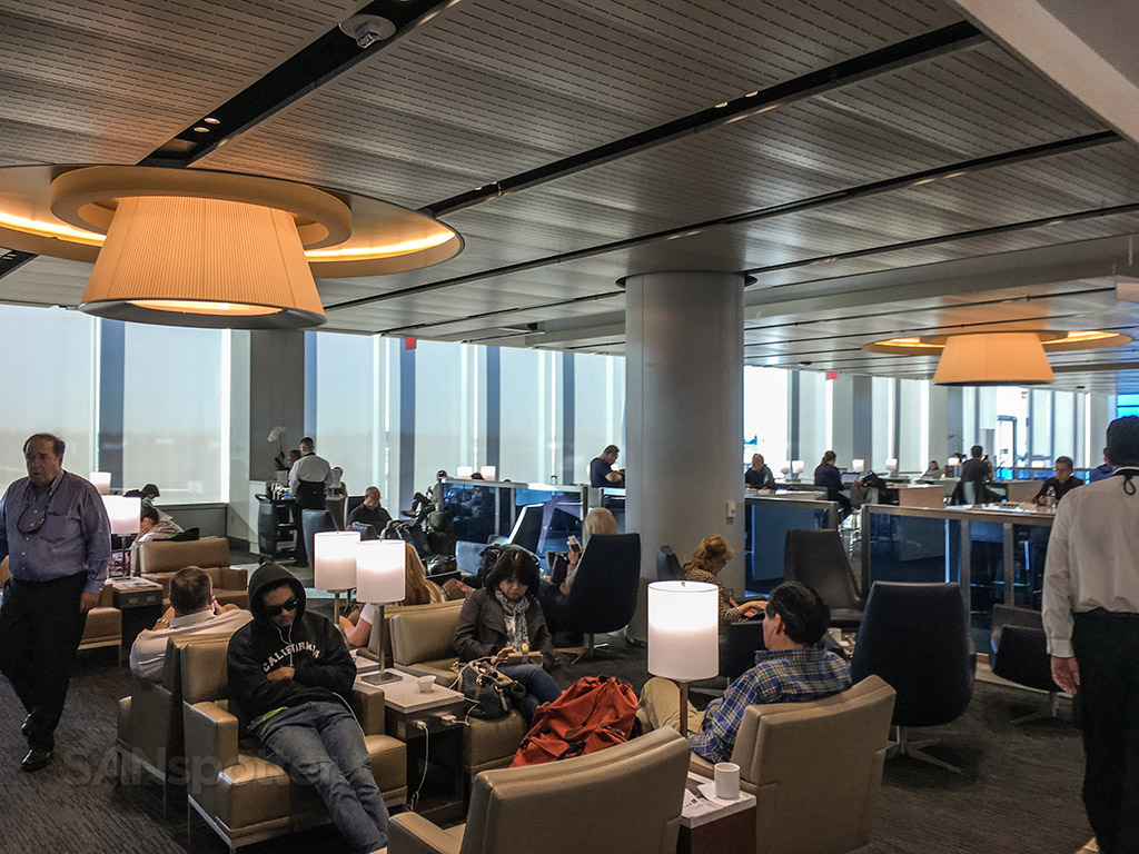 Busy United club LAX