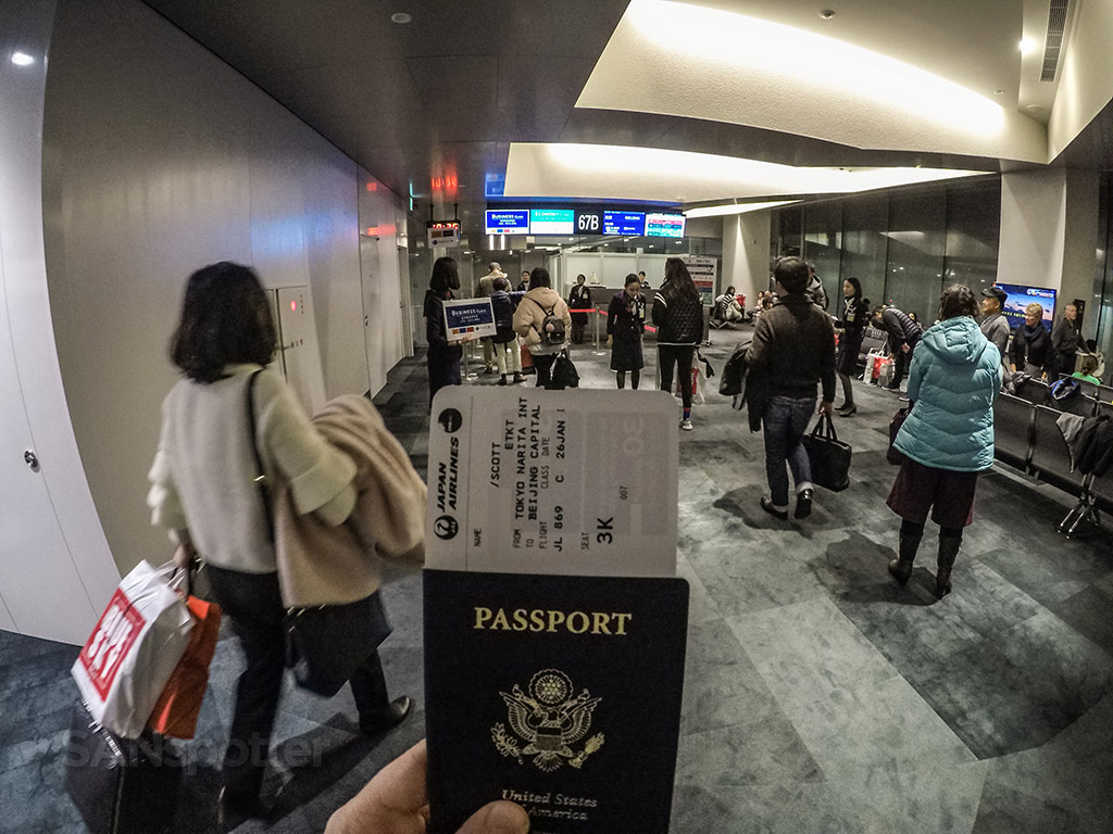 US passport Narita airport