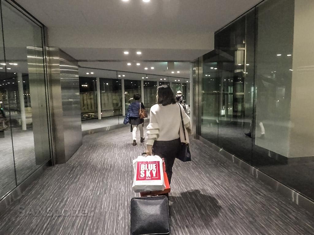 NRT Airport gate