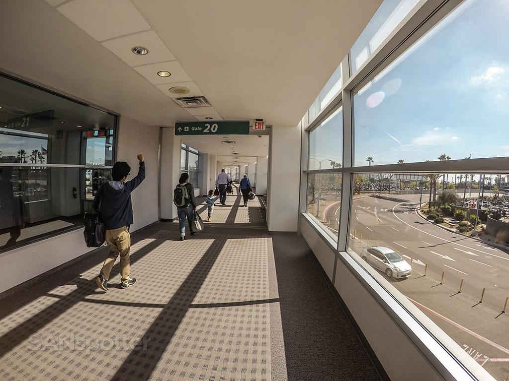 San Diego international Airport international boarding gate