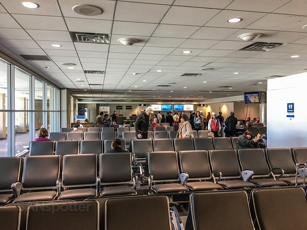 JAL gate San Diego international airport