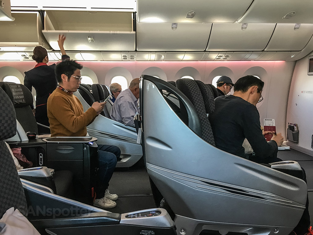 Japan Airlines Shell flat Neo business class