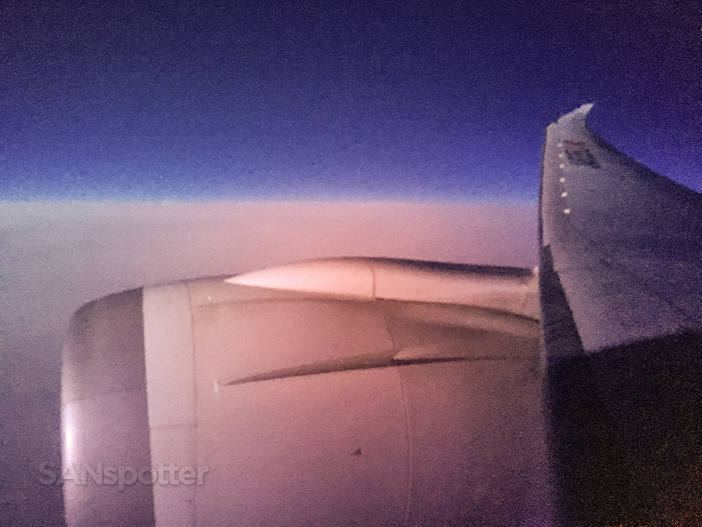 Boeing 787 window tint