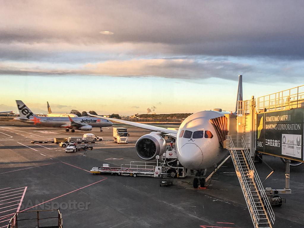 JA835J Japan Airlines 787
