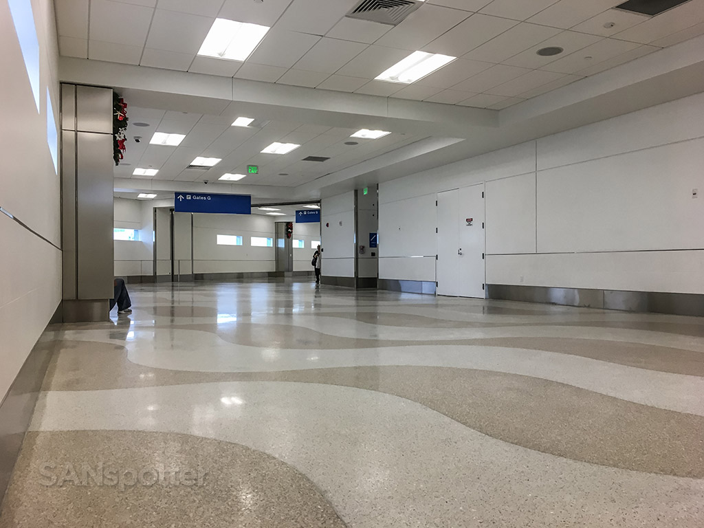 The only quiet spot in the Fort Lauderdale airport