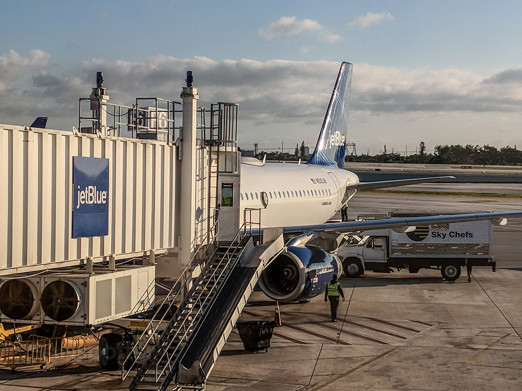 Je blue A320 Fort Lauderdale airport