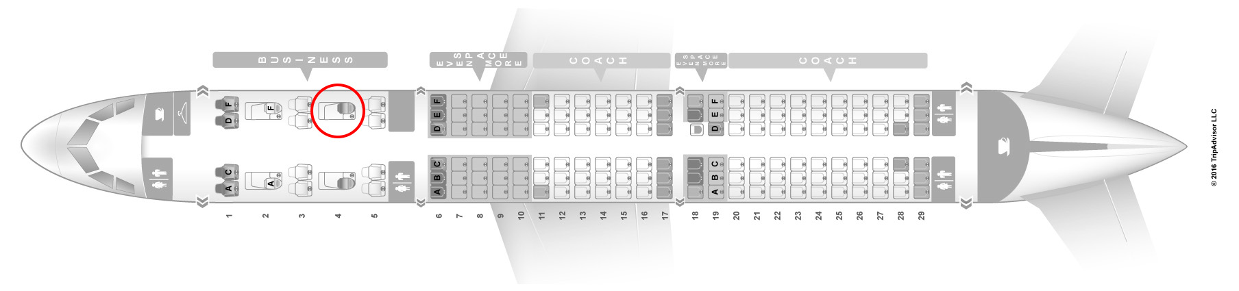 JetBlue a321 transcon seat map