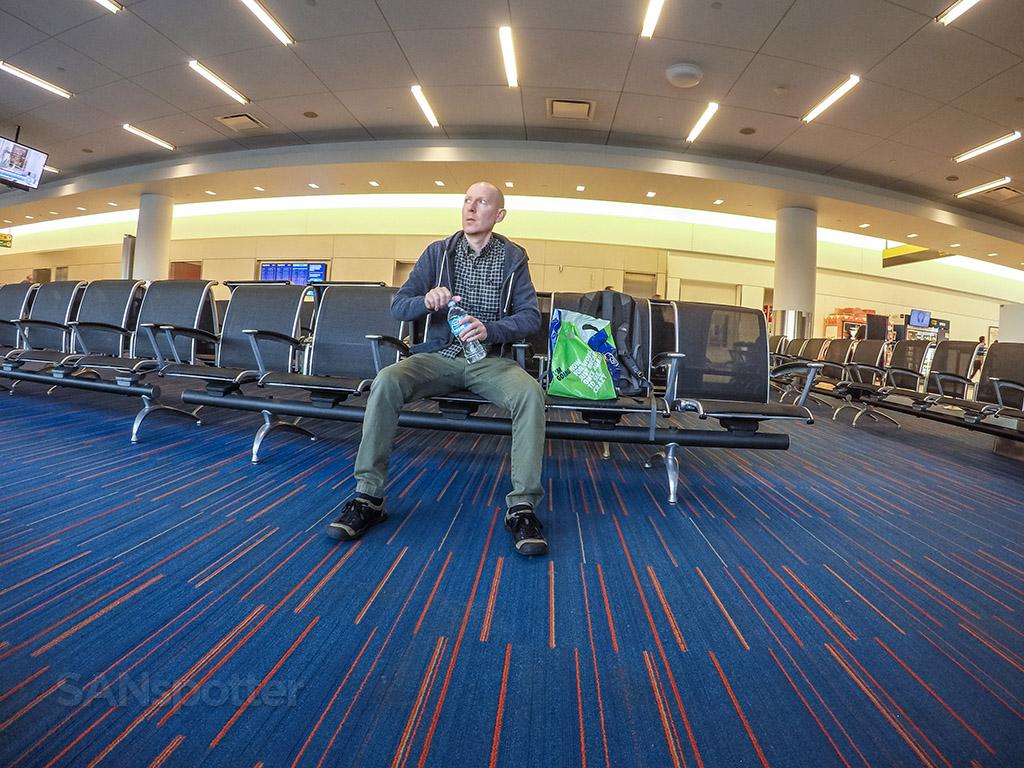 SANspotter selfie JFK airport