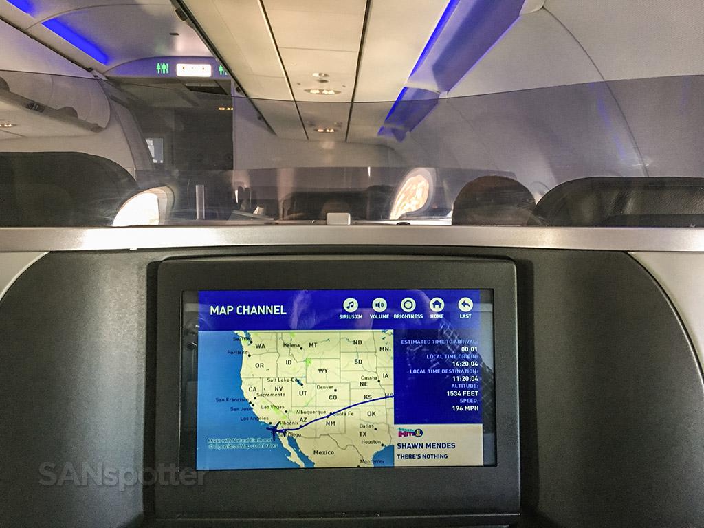 JetBlue Mint arrival San Diego