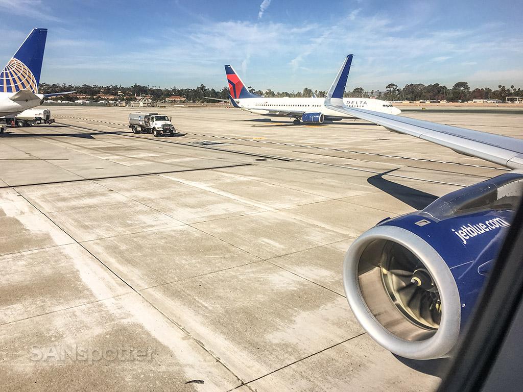 JetBlue arrival San Diego