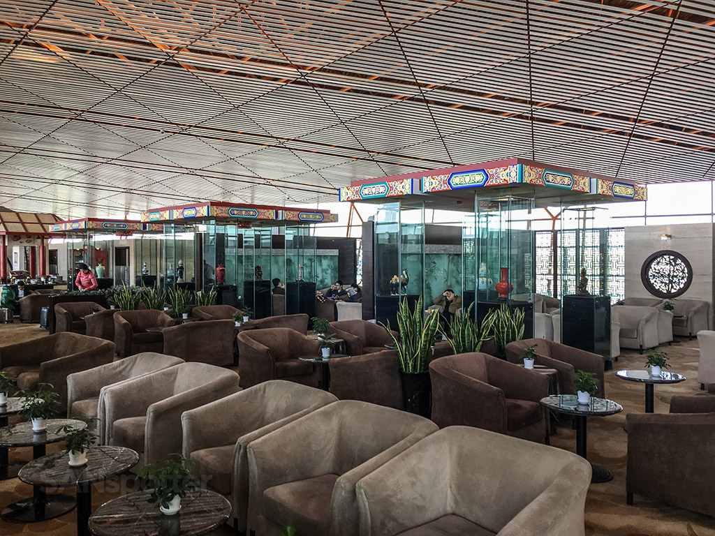 BGS premier lounge layout