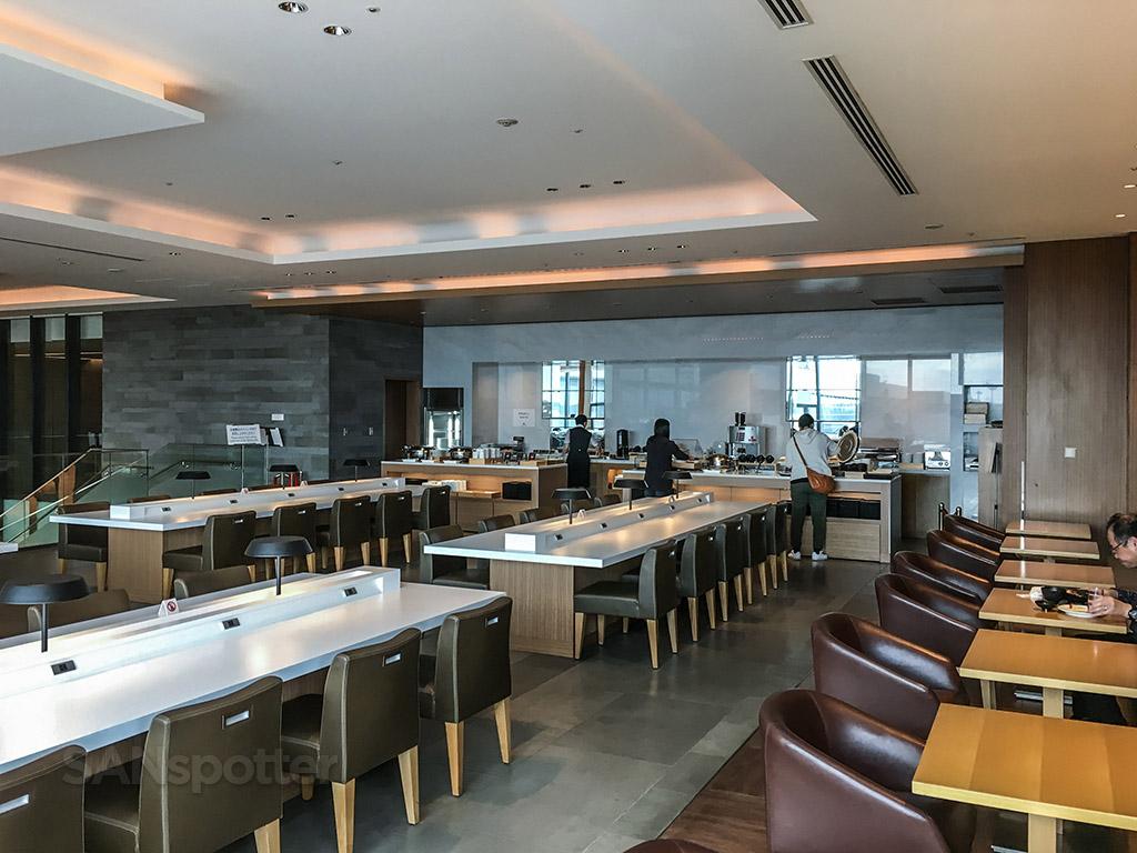 JAL Sakura Lounge cafeteria
