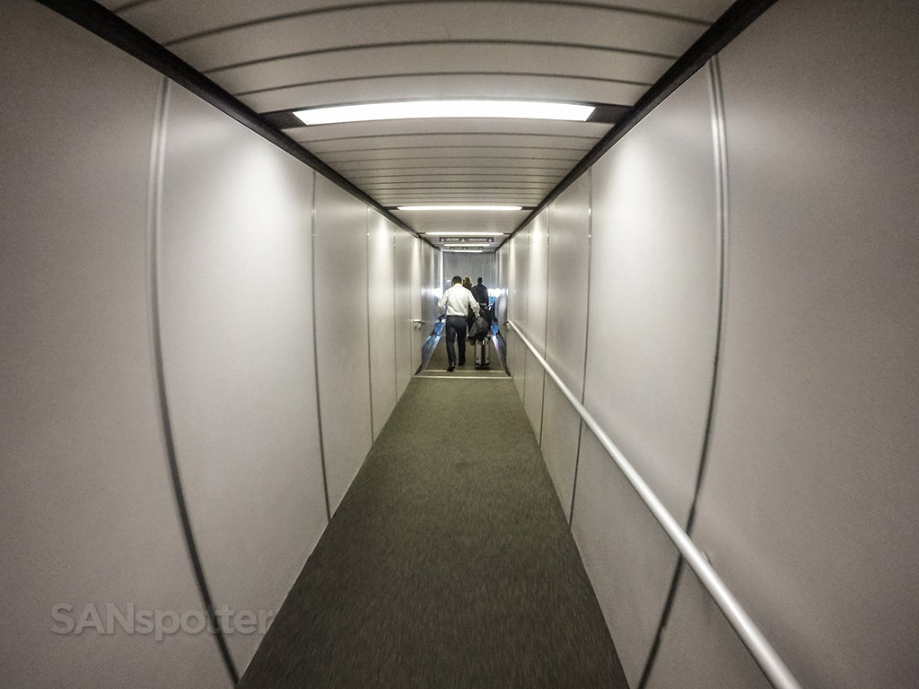 San Francisco international airport jet bridge