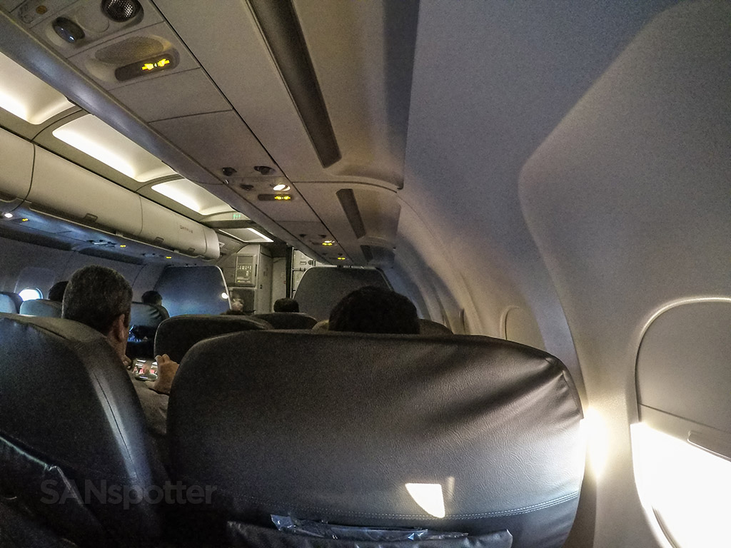 American Airlines A321 first class interior