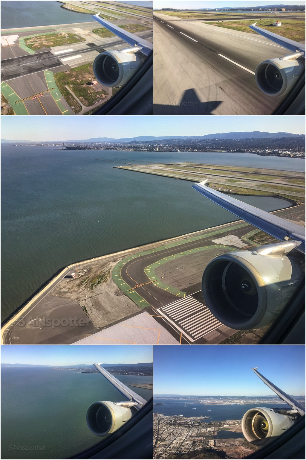Take off from SFO