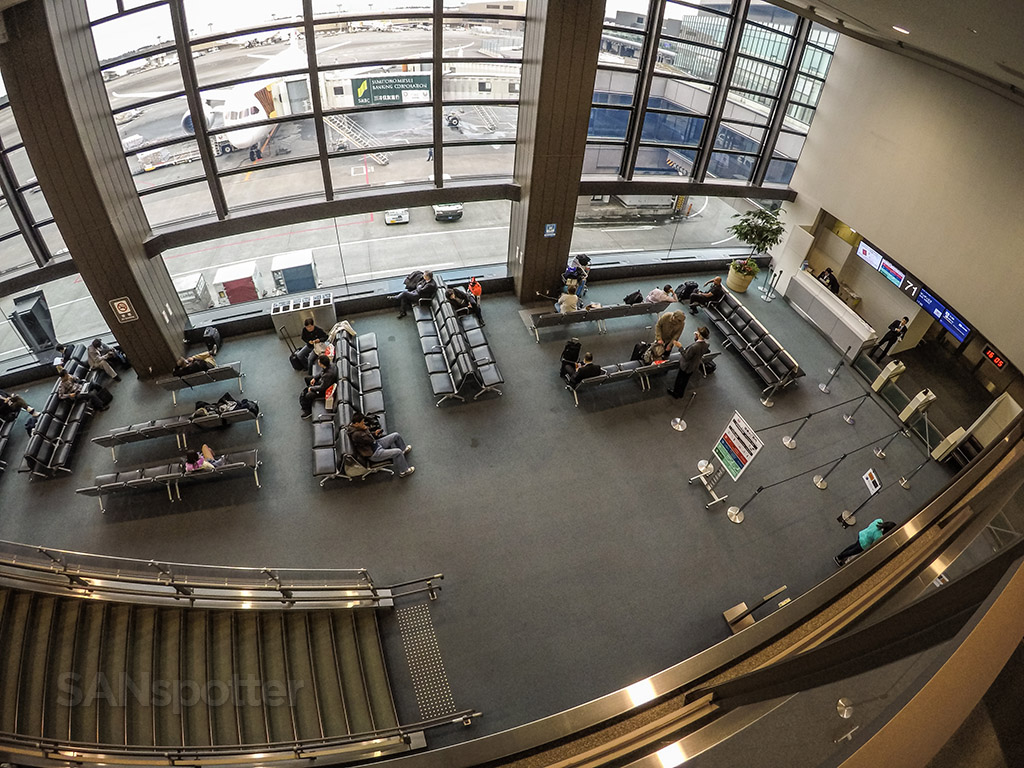 Narita airport gate area