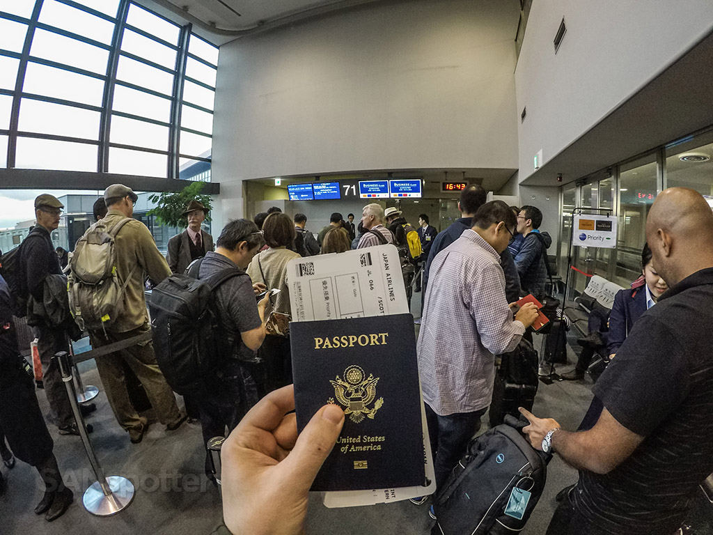 US passport Narita airport