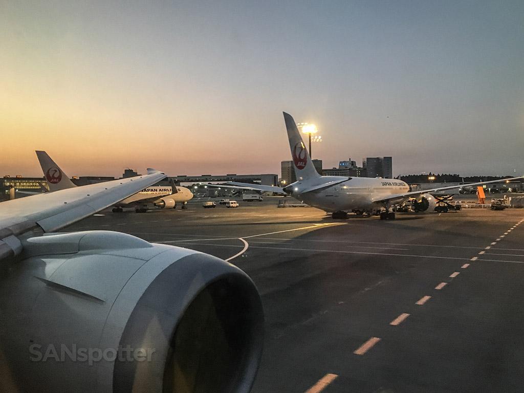 Japan Airlines Narita airport