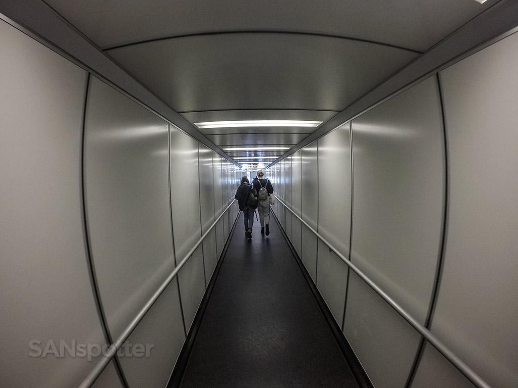 San Diego international airport jet bridge