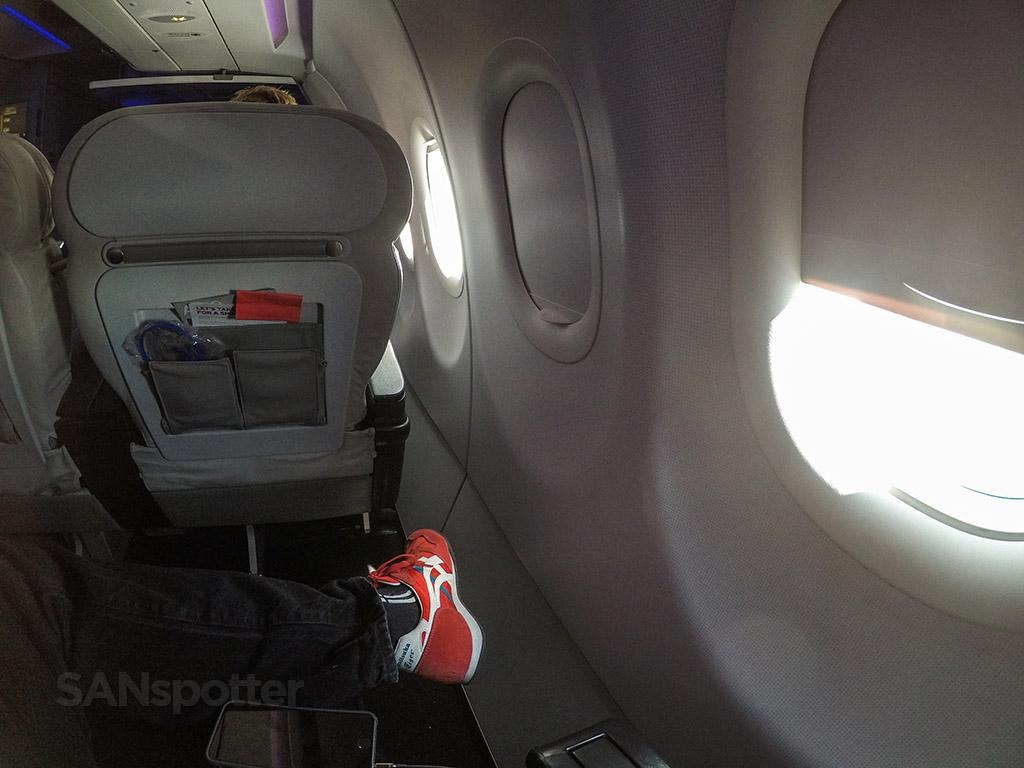 Virgin America first class experience