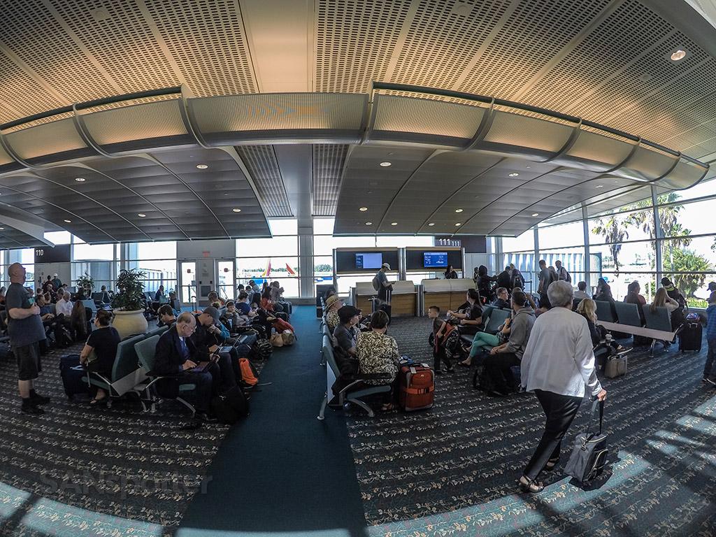 Gate 111 Orlando airport