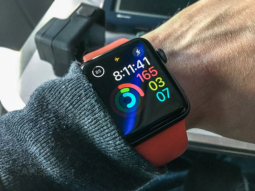 Apple Watch travel