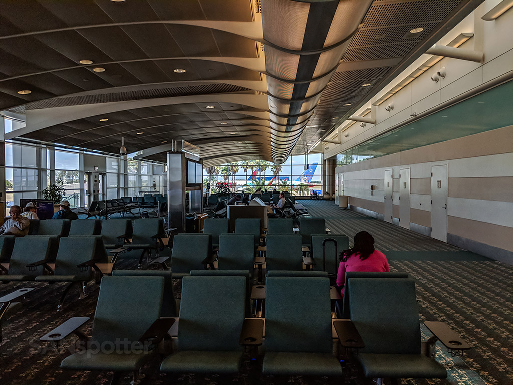 Orlando airport terminal interior