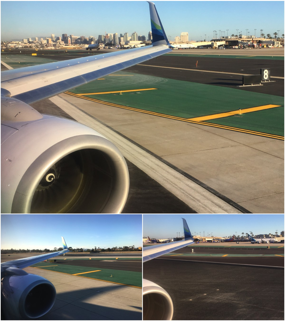 San Diego airport arrival Alaska airlines