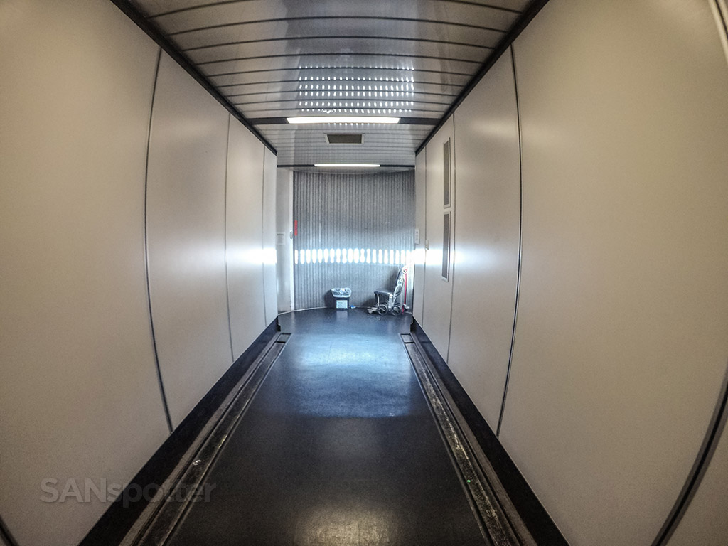 San Diego airport jet bridge terminal one