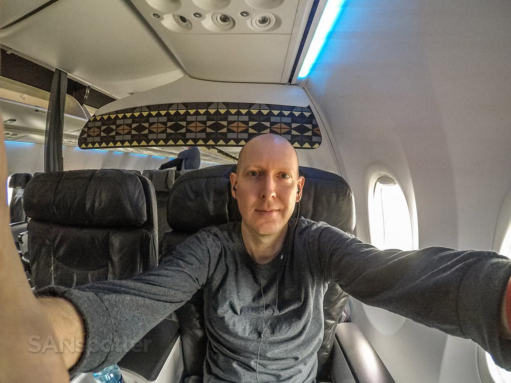 SANspotter selfie Alaska Airlines