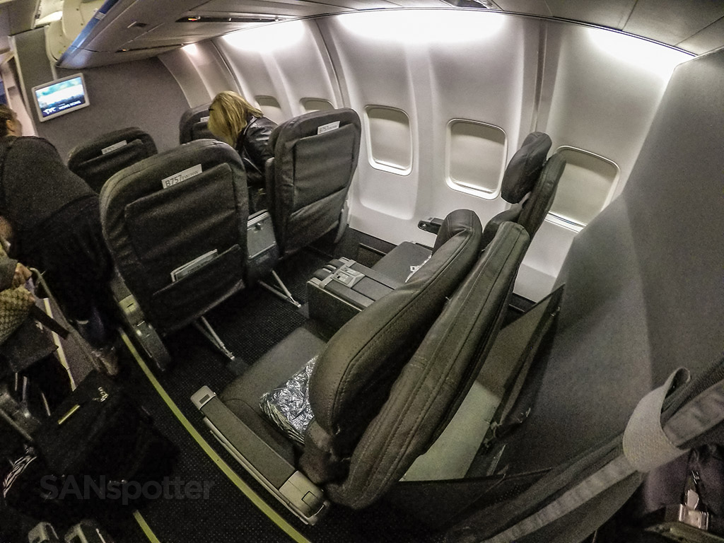 American Airlines 757 first class