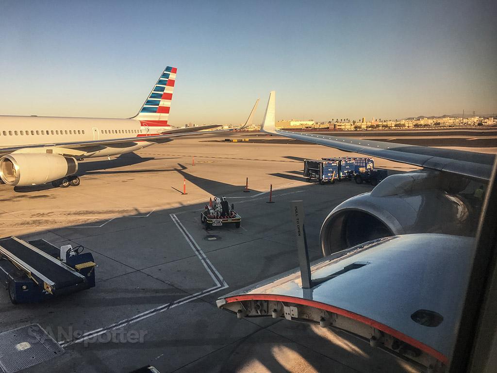 American Airlines Phoenix Arizona ground crew