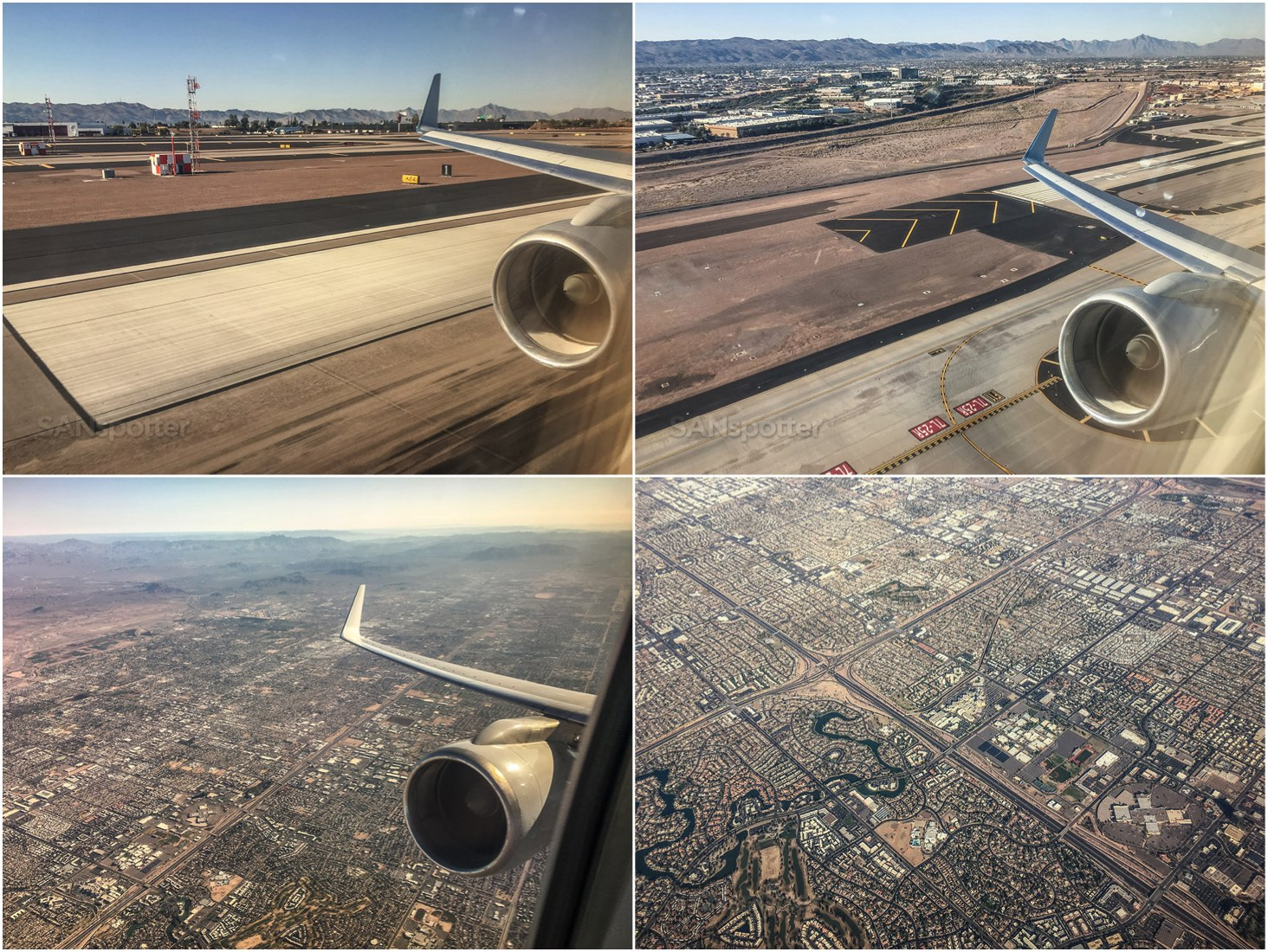 Taking off from PHX