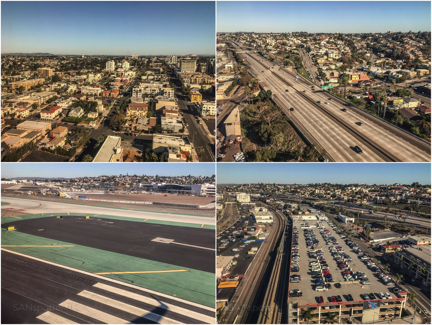 Approach into San Diego Airport