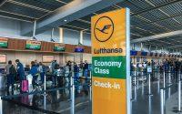 Lufthansa Baggage drop San Diego