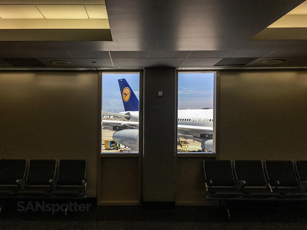 Lufthansa terminal 2 east SAN