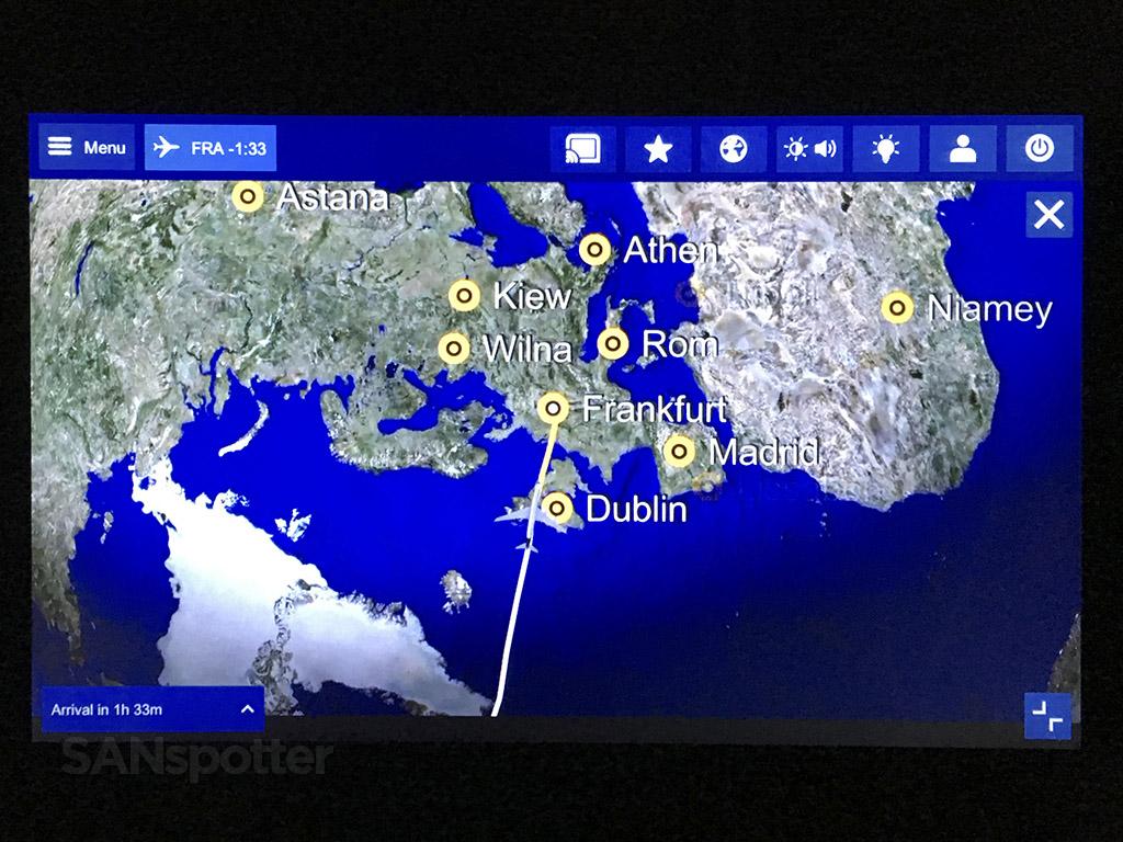 Overflying Europe