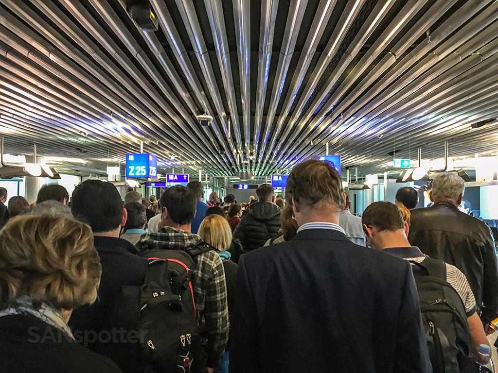 Frankfurt airport passport control