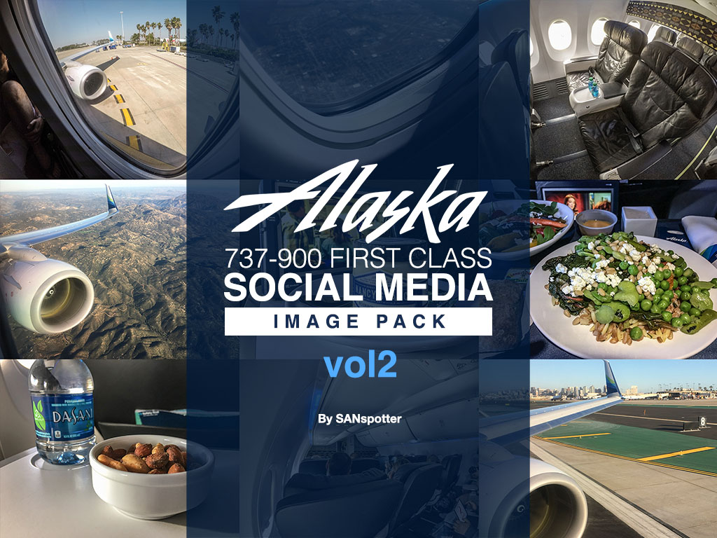 Alaska Airlines 737-900/ER social media image pack volume 2
