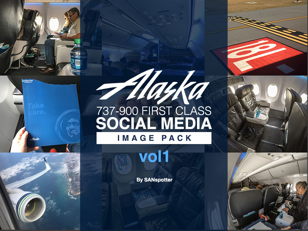 Alaska Airlines 737-900/ER social media image pack
