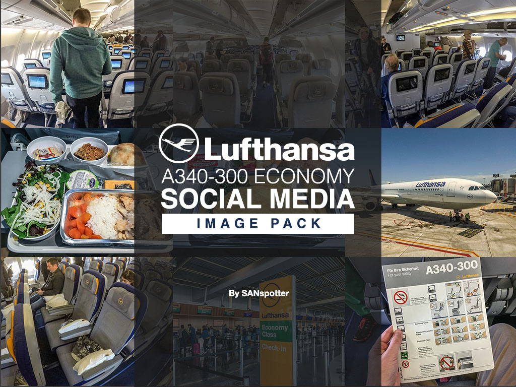 Lufthansa social media image pack